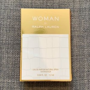 Ralph Lauren Woman Sample Fragrance New
